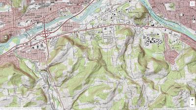 Vestal topography