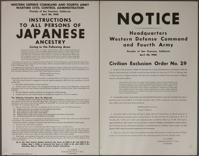 Japanese internment posters
