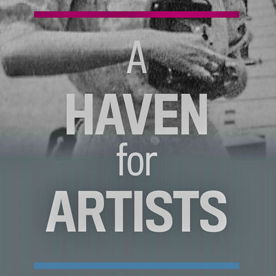 The arts audio tour icon