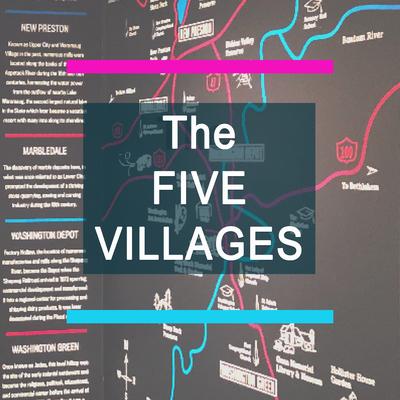 Five villages audio tour icon