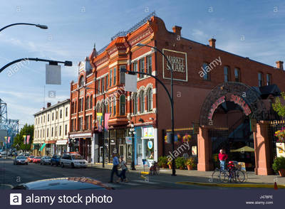 Red brick building that is part of market square shopping center johnson j478pe