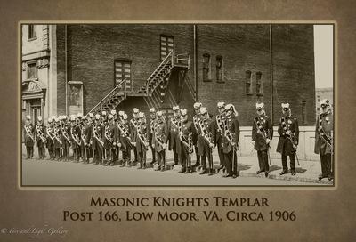 Masonic knights templar 1906