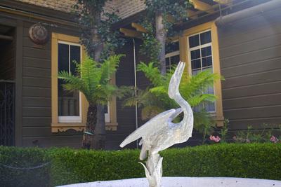 Egret fountain