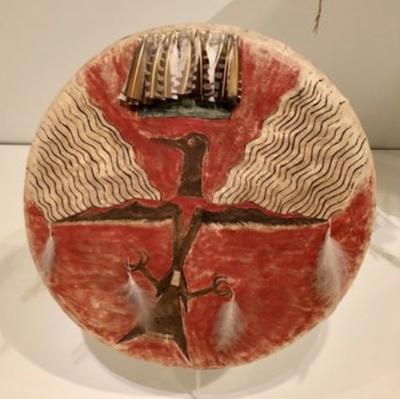 Shield no 2 horns