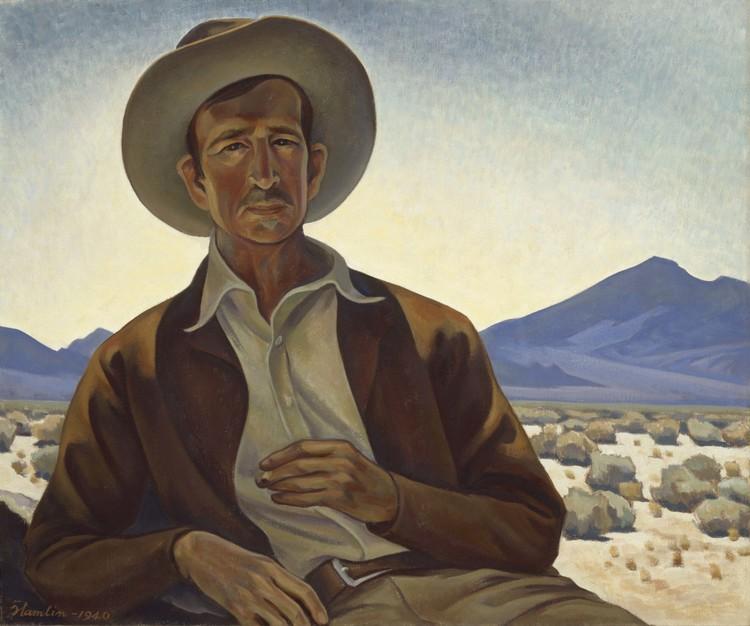Painter of the desert hamlin