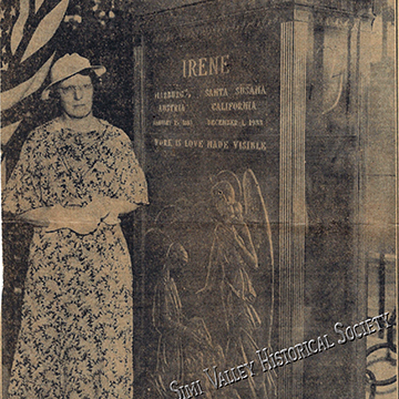 Hp72.12.1 dante irene unveiled at womans club april 13 1936 lat 1