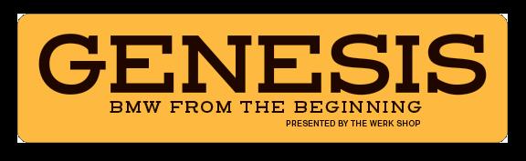 Genesis logo orange bkgd