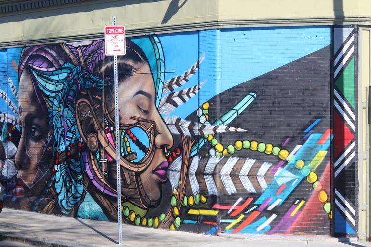 Day street mural