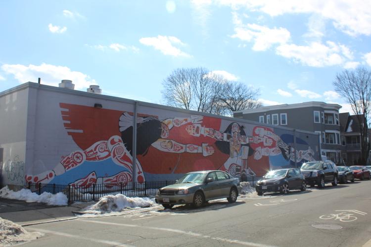 Taino mural