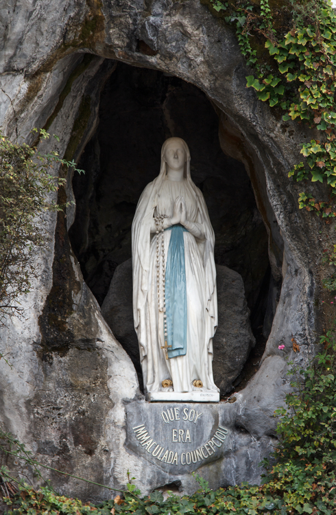 Our lady in the grotto