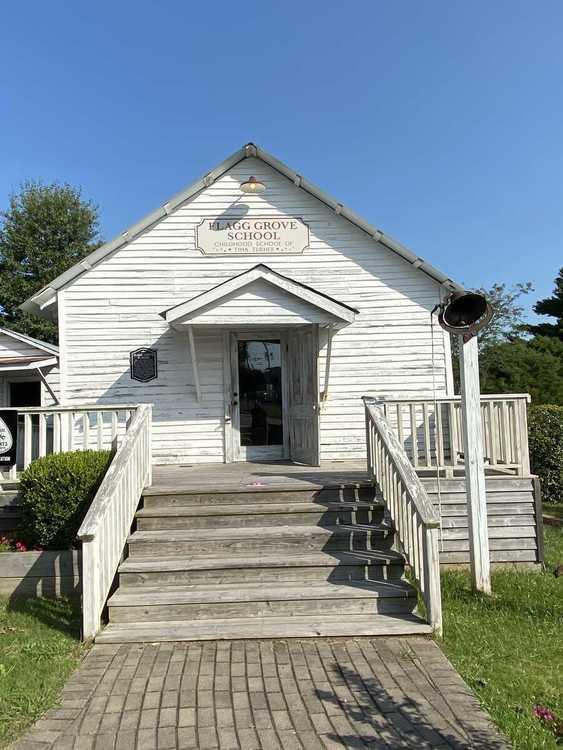 Flagg grove schoolhouse
