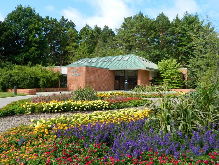 Dow gardens visitor center