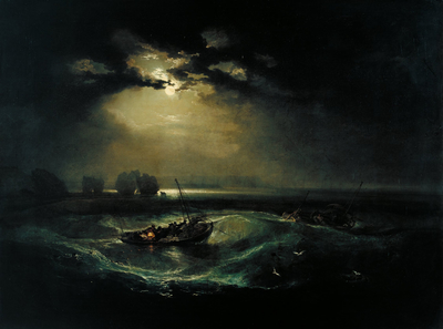 Joseph mallord william turner   fishermen at sea   google art project