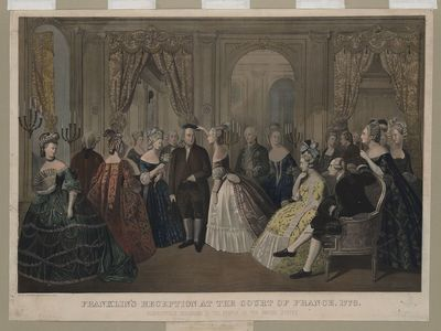 Franklin at versailles