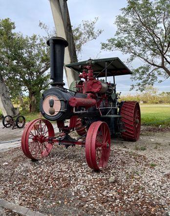 Case steam traction engine