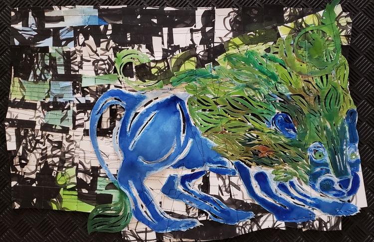 Buhr elizabeth blue lion
