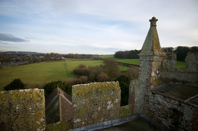 11. view from the tower across chancel