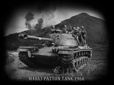 Army vietnam war   patton tank