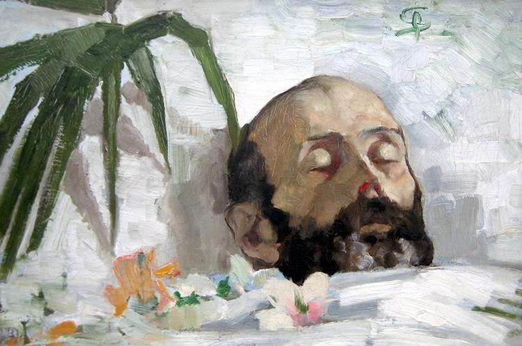 Segantini bildnis eines toten 1886