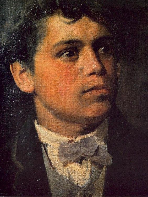 Segantini selbstportrait