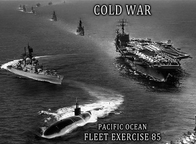 Navy fleet exercises cold war