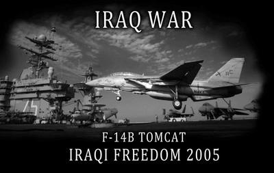 Navi f 14b tomcat iraq