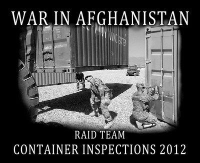 C afghanistan container inspections