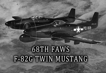 Air force twin mustang korea