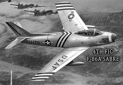 Air force far east f86 sabre