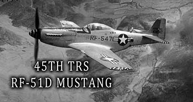 Air force 45th trs rf 51d mustang