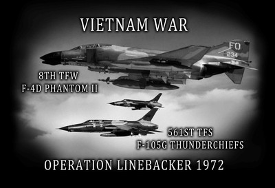 Air force operation linebacker vietnam