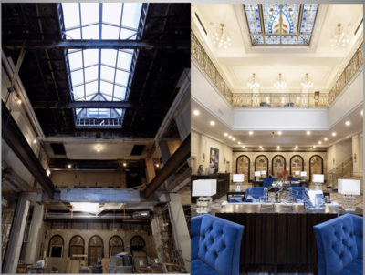 Hotel saint louis lobby