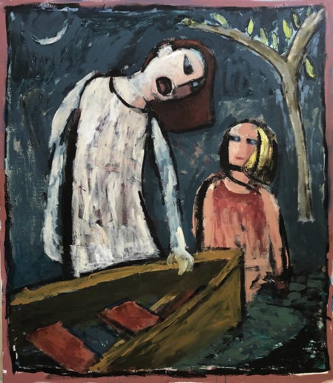 Breunig  karen pandemic painting