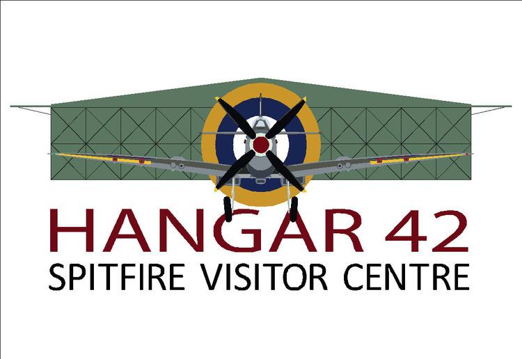 Spitfire vistor centre gate sign